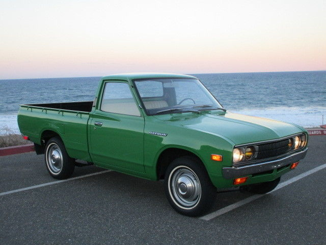 1974 datsun 620 fully restored 83kmiles unbelievable condition for sale photos technical. Black Bedroom Furniture Sets. Home Design Ideas