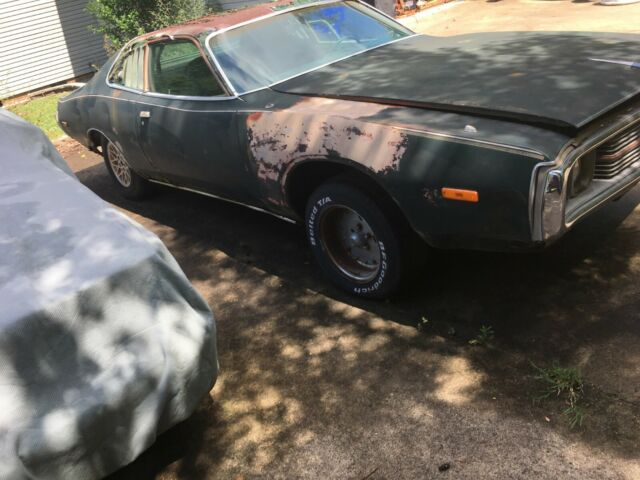 1974 Green Dodge Charger 2 door with Green interior