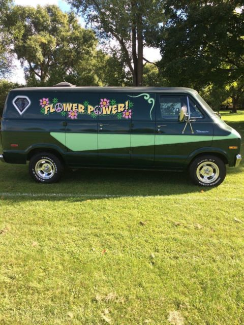 1974 Dodge B200 Van custom
