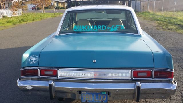 1974 Dodge Dart 4 Door V8 For Sale Photos Technical