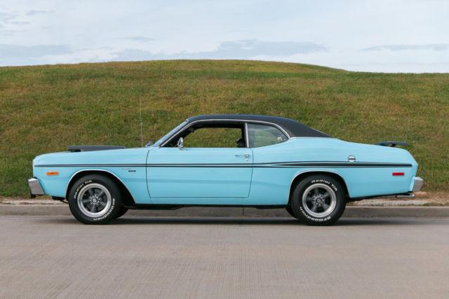 1974 Dodge Dart Sport Demon 318 V8 Correct Color of Powder Blue for sale: photos, technical ...