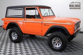 1974 Ford Bronco 302 V8. PS. 1,100 Miles! Auto!