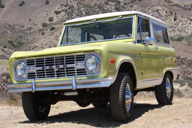 1974 Ford Bronco Ranger