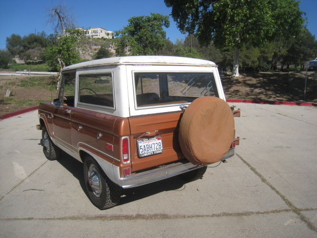 1974 Ford Bronco, Uncut,Original California Vehicle Rust ...