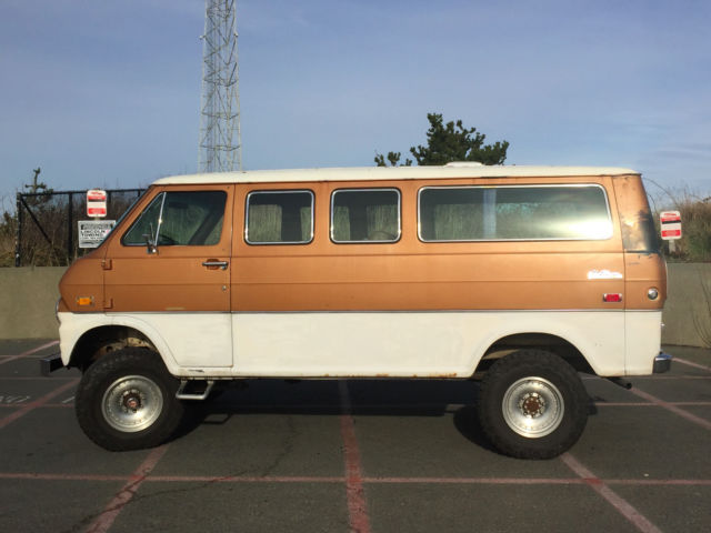 1974 Ford Econoline 300 4x4 Van For Sale Photos Technical