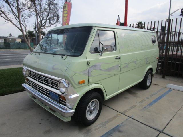 1974 ford econoline custom van for sale photos technical specifications description. Black Bedroom Furniture Sets. Home Design Ideas