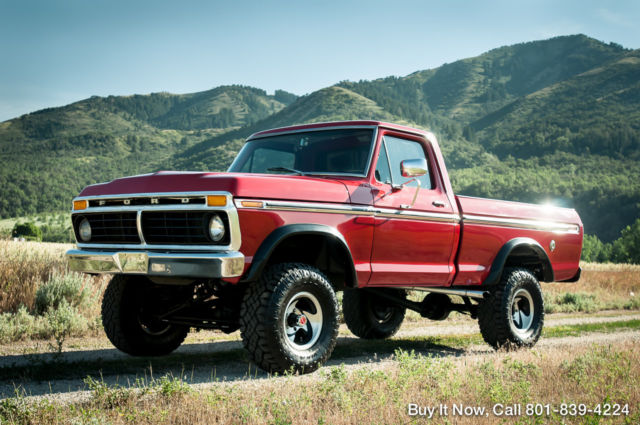 1974 Ford F-100 F100 RANGER 4WD HIGHBOY 428 COBRA JET V8