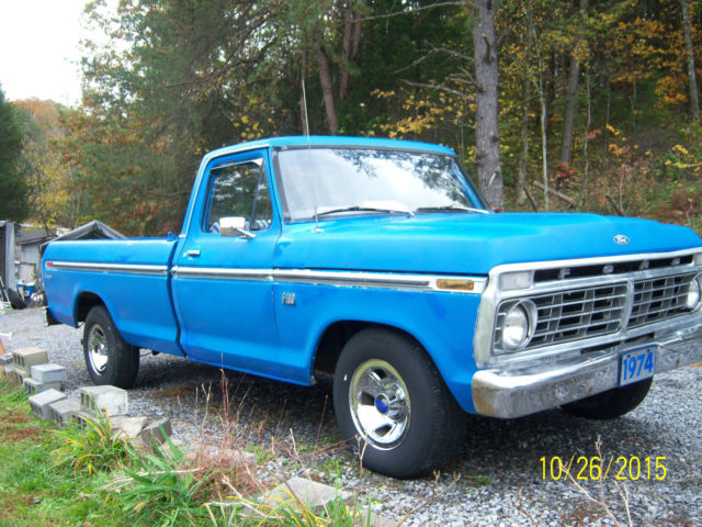 1967 F 100 Vin Number Location