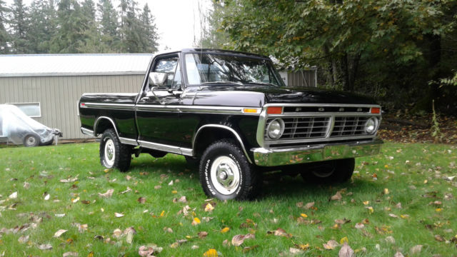 1974 Ford F-150 F100 Ranger XLT Short Wide Bed 4x4