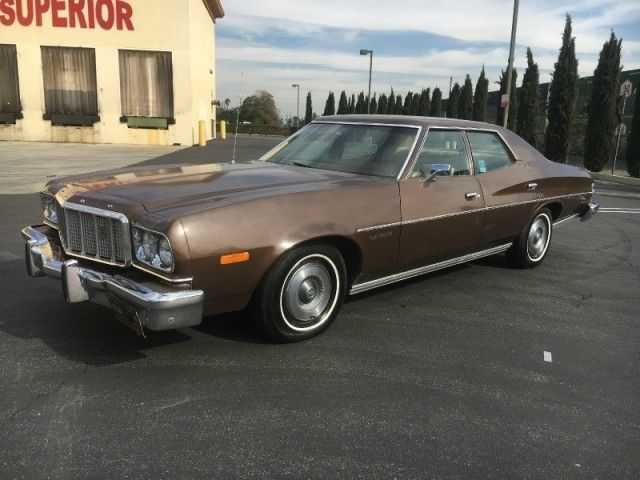 1974 ford torino 4 door