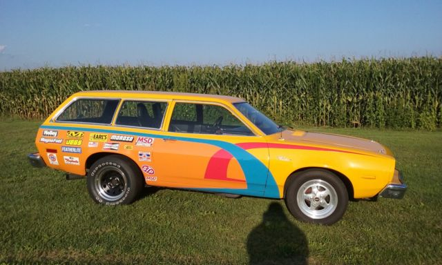 1974 Ford Other 1974 FORD PINTO WAGON STREET LEGAL DRAG CAR,GASSER