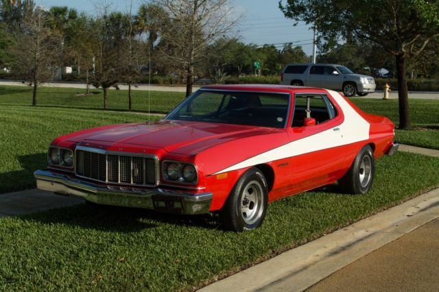 1974 ford torino starsky hutch gran torino tribute car for sale photos technical. Black Bedroom Furniture Sets. Home Design Ideas