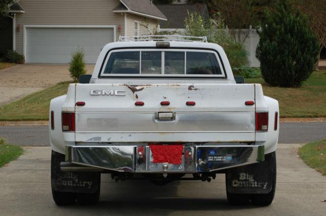 1974 gmc 3500 square body dually chevy silverado truck for sale photos technical. Black Bedroom Furniture Sets. Home Design Ideas