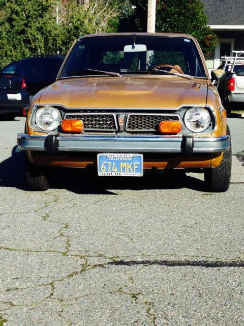 1974 Honda Civic for sale: photos, technical specifications, description