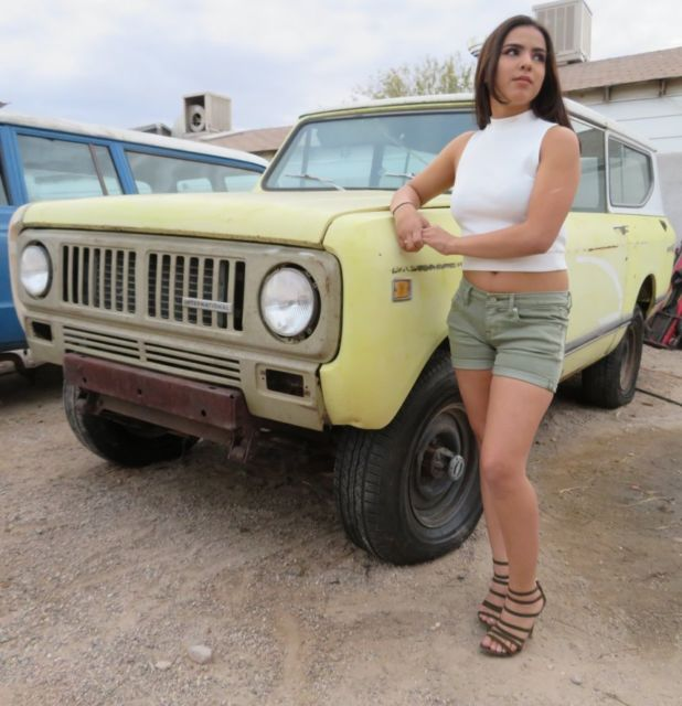 1974 International Harvester Scout Scout II 4x4