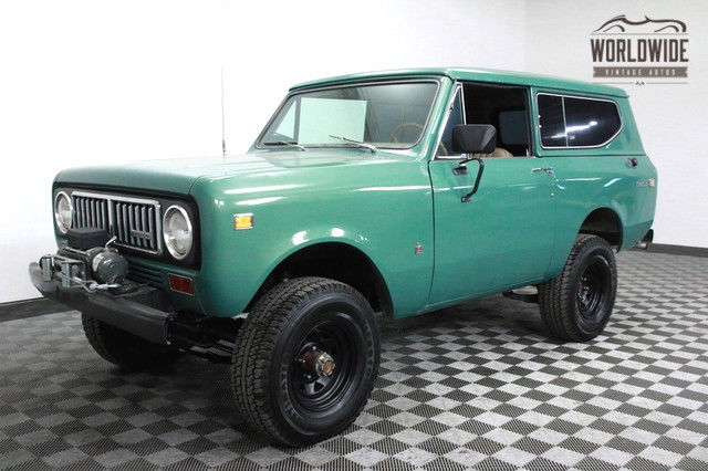 1974 International Harvester Scout Gorgeous! V8. PS. PB. Auto. Convertible!