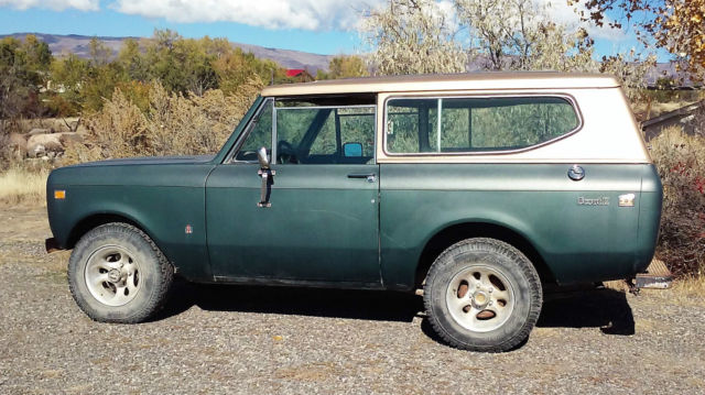 1974 International Harvester Scout base