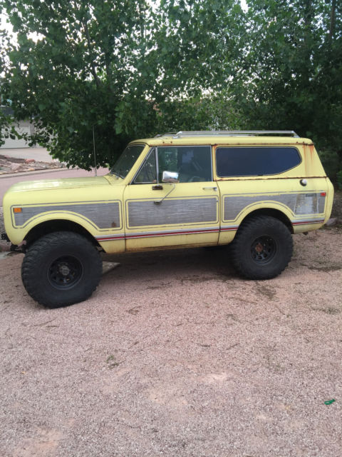 1974 International Harvester Scout