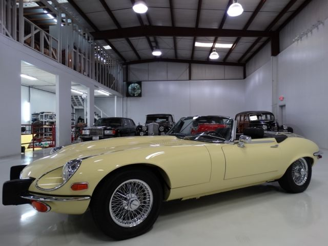1974 Jaguar E-Type XKE 4-SPEED MANUAL! AIR CONDITIONING!