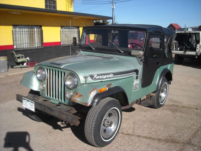 1974 Jeep Renegade CJ-5