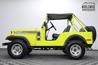 1974 Jeep CJ CJ5 Renegade