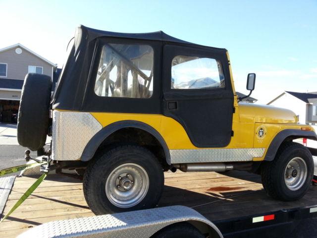 1974 Jeep Cj5 Soft Top - Jeep Cj Sport Utility L Soft Top And Hard Top - 1974 Jeep Cj5 Soft Top