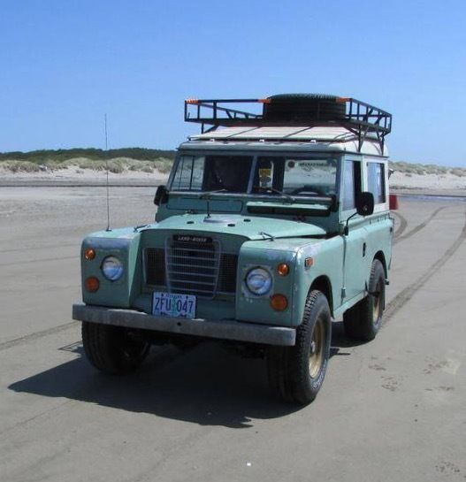 "1974 Land Rover Series III 88"" GM Swap For Sale: Photos"