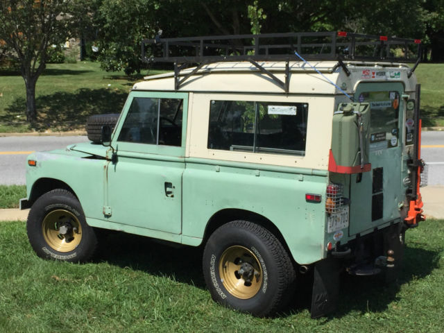 1974 land rover series iii 88 gm swap for sale photos technical specifications description. Black Bedroom Furniture Sets. Home Design Ideas