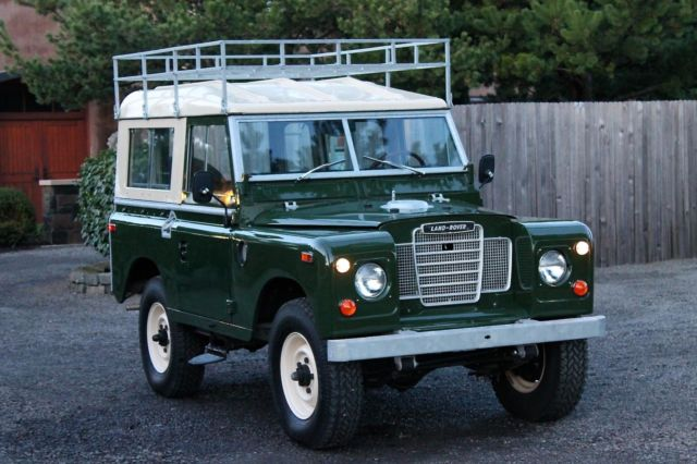 1974 Land Rover SIII 88 Utility