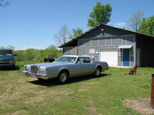 1974 Lincoln Mark Series