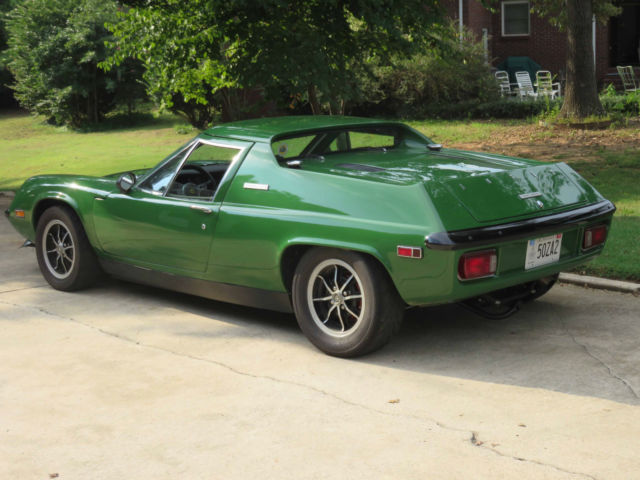 Worksheet. 1974 Lotus Europa Special for sale photos technical