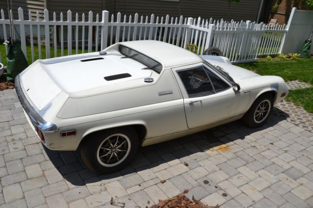 Worksheet. 1974 Lotus Europa Special Big Valve Twin Cam for sale photos