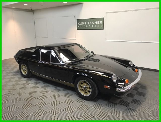 1974 Lotus Europa Twin Cam TWIN CAM BIG VALVE, 4-SPEED, WEBER CARBURETORS.