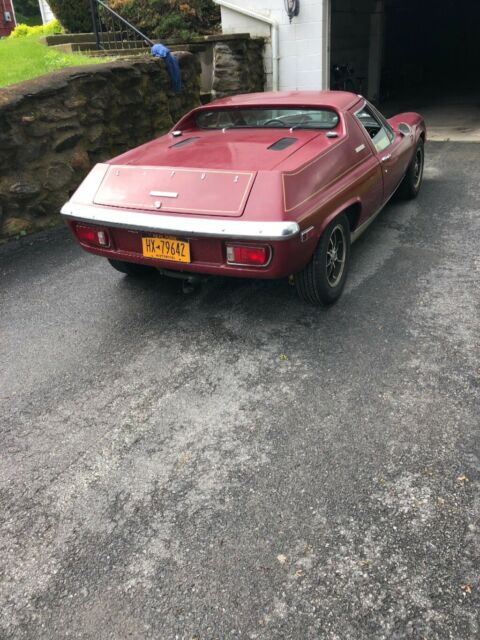 Worksheet. 1974 Lotus Europa Twin Cam Special 5 speed for sale photos