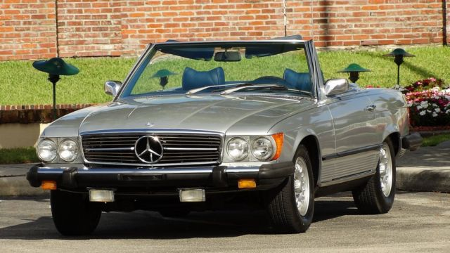 Mercedes Benz Sl Roadster Tops Hard And Soft Dark Blue Miles