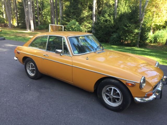 1974 MG MGB Chrome