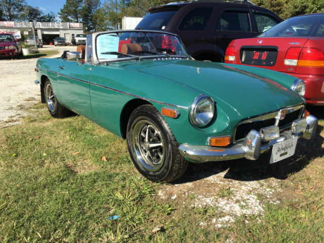 1974 MG MGB Soft top Convertible (Have aftermarket Hard-Top)