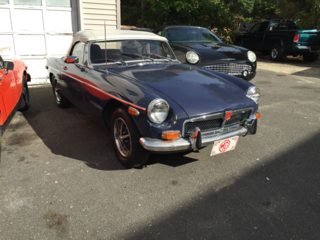 1974 MG MGB english