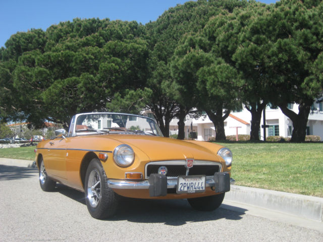 1974 MG MGB Matching Numbers MGB