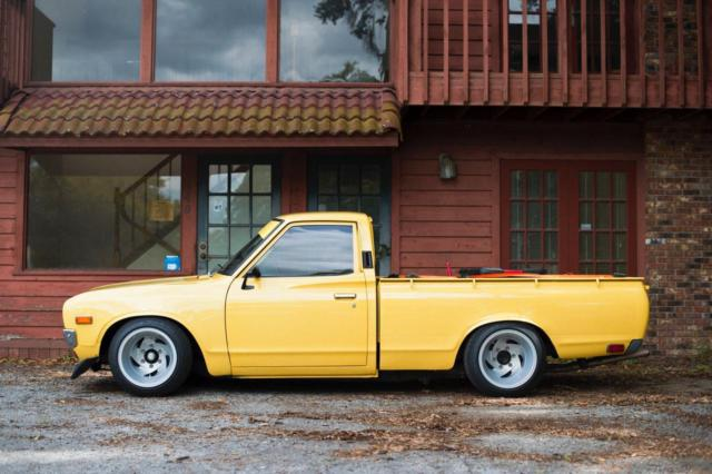 1974 nissan datsun 620 ka24de lowered reserve! for sale ...