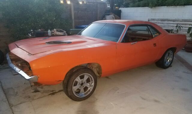 1974 Plymouth Barracuda with Factory Cuda package 1970 1971