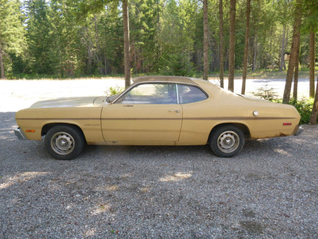 1974 Plymouth Duster Gold Duster