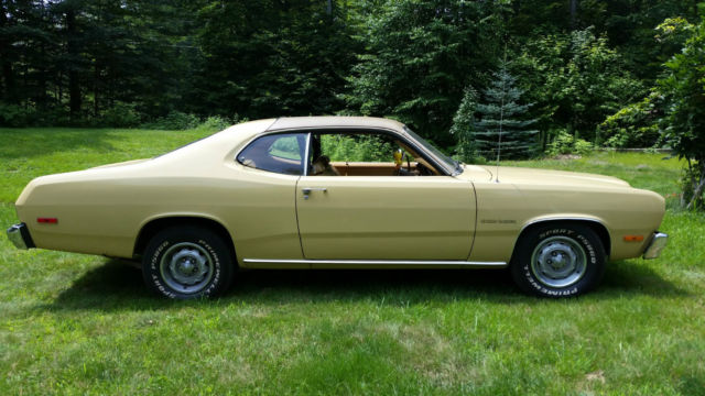 1974 Plymouth Duster Gold