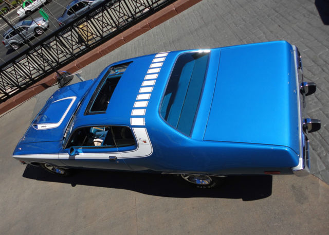 1974 PLYMOUTH ROADRUNNER*ONE of ONE* FACTORY SUNROOF/4-SPD