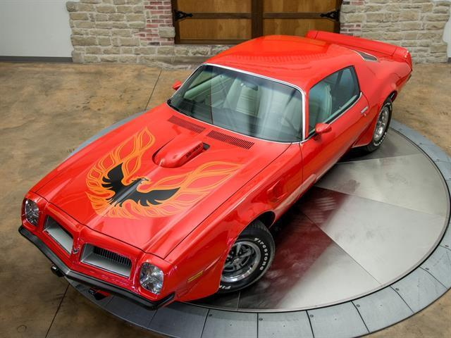 1974 Pontiac Firebird SD-455 Super duty  Firebird trans am