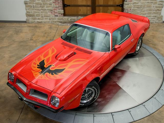 1974 Pontiac Firebird SD-455 Super duty  Firebird transam