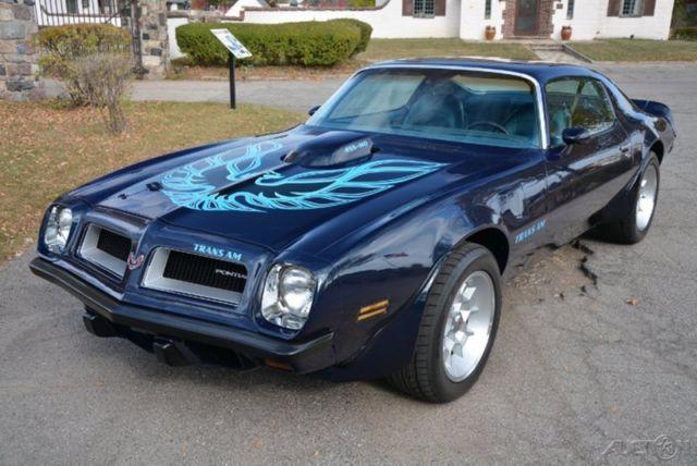 1974 Pontiac Firebird Trans Am Free Shipping Pro Built 455