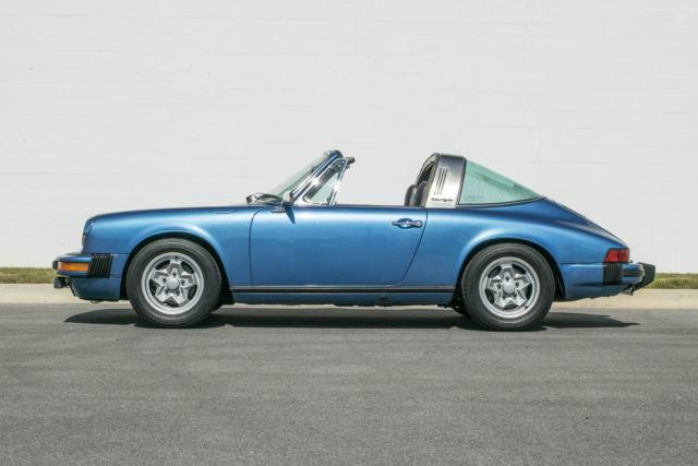 1974 Porsche 911 Targa Rare Color No Reserve For Sale
