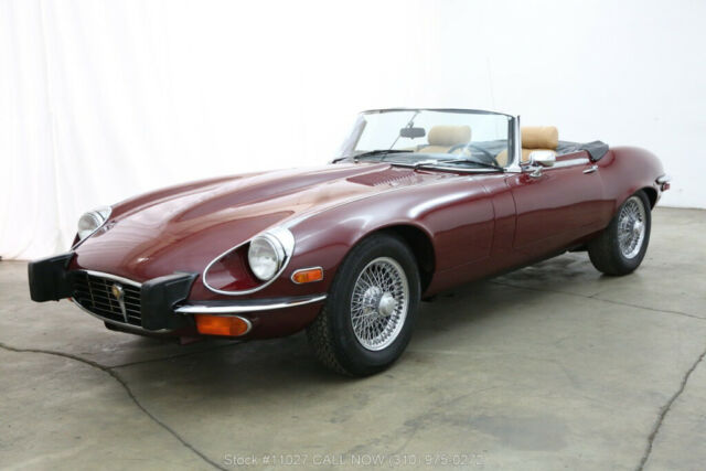 1974 Red Jaguar XK with Other Color interior