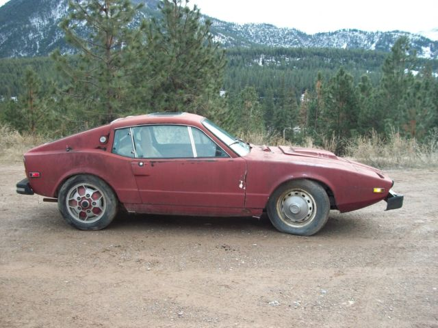 1974 Saab Sonett Parts project car NO RESERVE